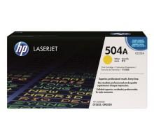 Заправка картриджа HP CE252A для HP CLJ CP3525, CM 3530