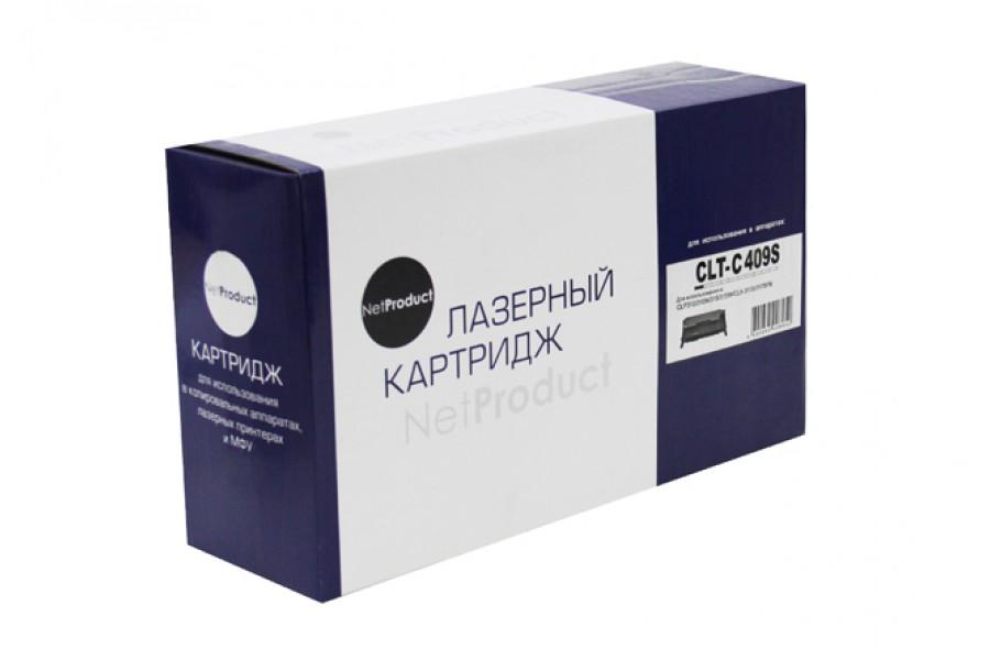 Тонер-картридж NetProduct (N-CLT-C409S) для Samsung CLP-310/315/CLX-3170fn/3175, C, 1K